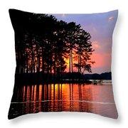 Hidden Sunrise Throw Pillow