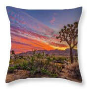 Hidden Valley Sunset Throw Pillow