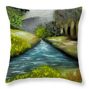 Hidden Waters Throw Pillow