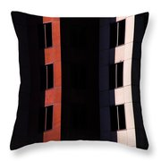Hidden Windows Throw Pillow