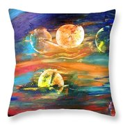Hidden Worlds Throw Pillow