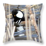 Hidding Throw Pillow