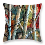 Hide And Go Seek Throw Pillow