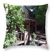 Hideaway In Locke Throw Pillow