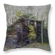 Hiding In The Forest Throw Pillow