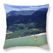 Hierve El Agua 2 Throw Pillow