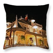 Higdon House Inn Ga Throw Pillow