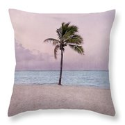 Higgs Beach - Key West Throw Pillow
