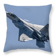 High Angle Of Attack Throw Pillow