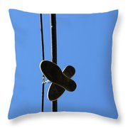 High As A Kite  Throw Pillow