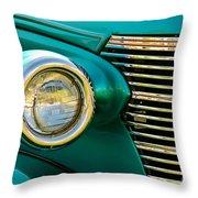 High Beam Throw Pillow