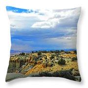 High Desert Ridge Throw Pillow