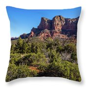 High Desert View Throw Pillow