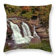 High Falls 1 Throw Pillow