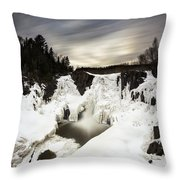 High Falls Long Expo 2017-03 Throw Pillow