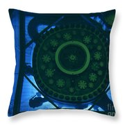 High Flux Isotope Reactor Pool Throw Pillow