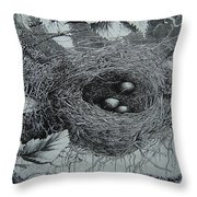 High In The Trees Throw Pillow