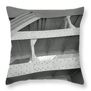 High Line Detail Throw Pillow