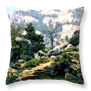 High Lonesome Throw Pillow