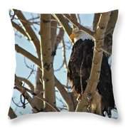 High Look Out Throw Pillow