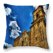 High Noon At The Bell Tower Throw Pillow