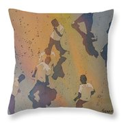 High Noon At The Gravel Spit II Throw Pillow
