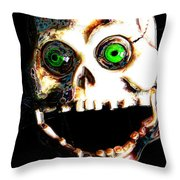 Manny Tappaferris Throw Pillow