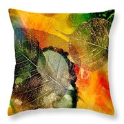 High On Nature Throw Pillow