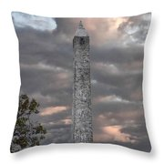 High Point Monument Sussex County New Jersey Throw Pillow