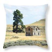 High Prairie Home Throw Pillow