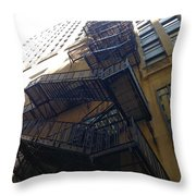 High Rise Escape Throw Pillow
