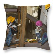 High Rise Lunch Throw Pillow