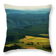 High Rocks Overlook  Throw Pillow