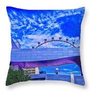 High Roller Throw Pillow