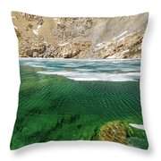 High Sierra Tarn Throw Pillow