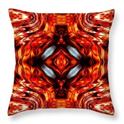 High Society Throw Pillow