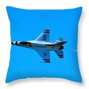 High Speed Pass Throw Pillow