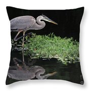 High Steppin Throw Pillow