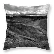 High Street Path, Lake District National Park, Cumbria Throw Pillow