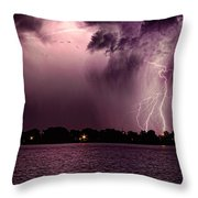 High Strike Throw Pillow