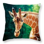 High Strung Throw Pillow