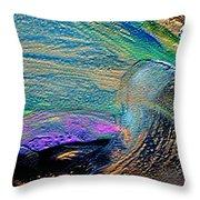 High Wave Throw Pillow