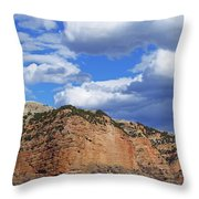 High, Wide, And Awesome Throw Pillow