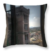 High Window Throw Pillow