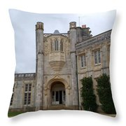 Highcliffe Castle Dorset Throw Pillow