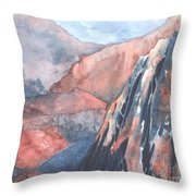 Higher Ground Throw Pillow