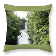 Highforce Waterfall Throw Pillow