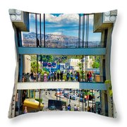 Highland And Hollywood C Throw Pillow