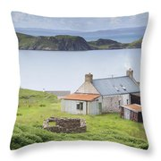 Highland Cottage Throw Pillow