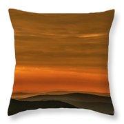 Highland Daybreak Throw Pillow